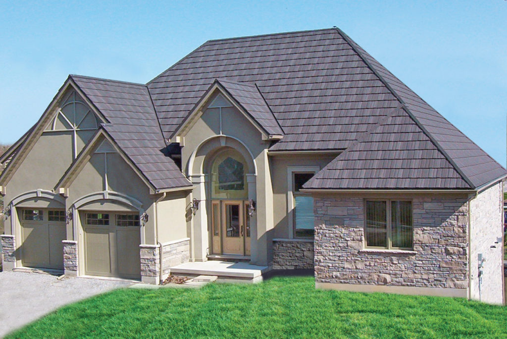 Wood shake erie metal roofs for Spanish style roof shingles