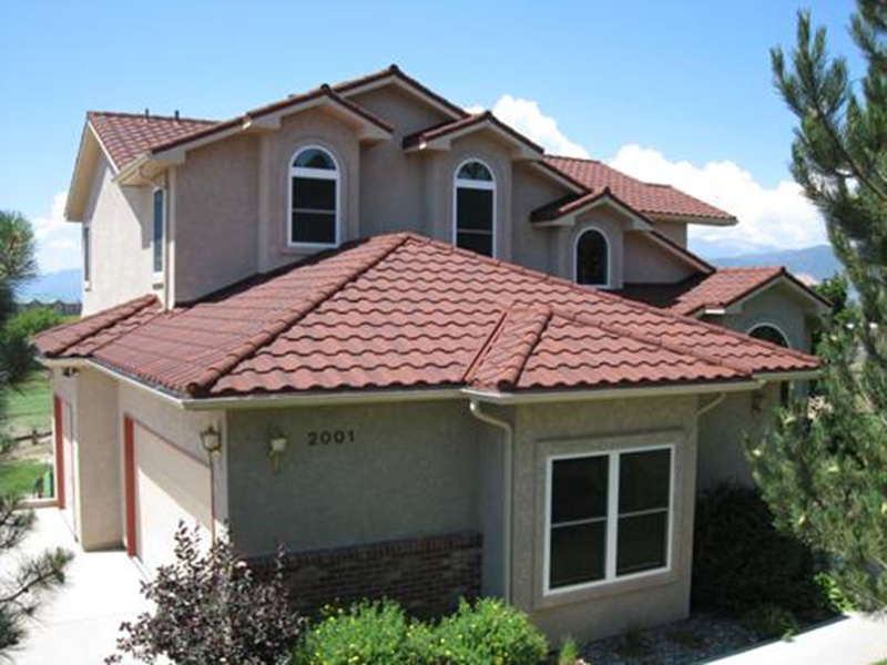 spanish style roofing erie metal roofs