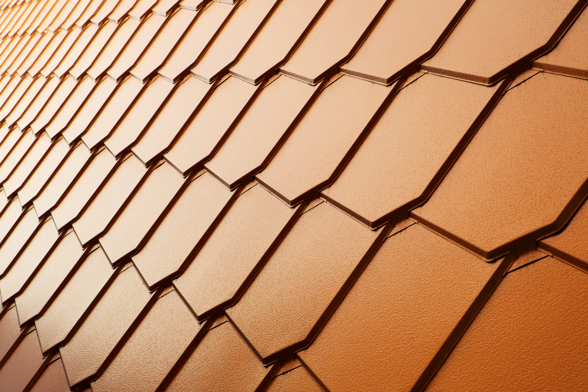 Copper Tile Wall Erie Metal Roofs